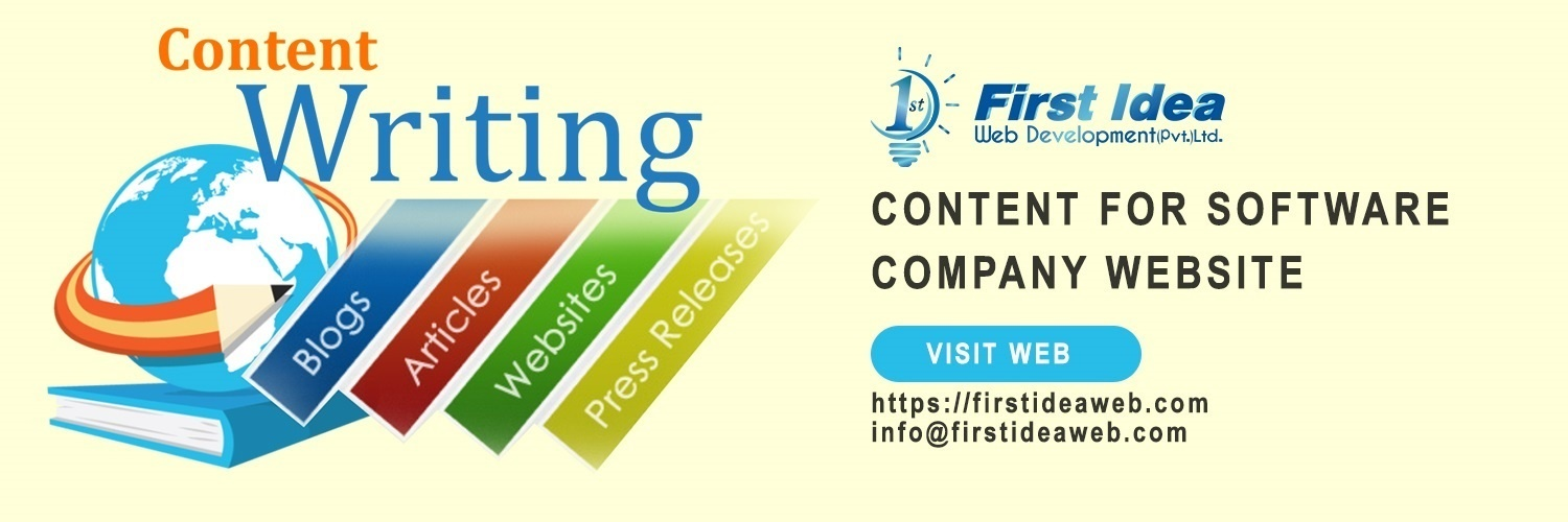 I need content for software company website