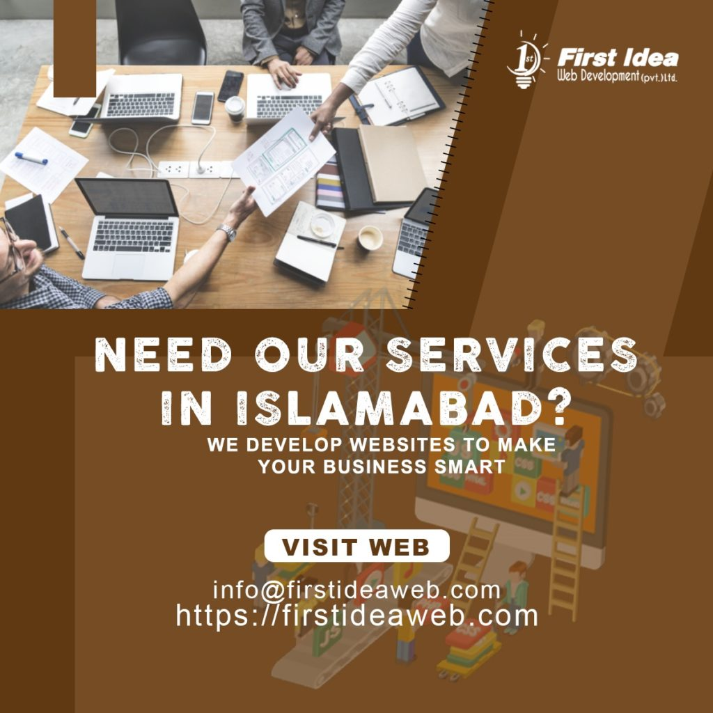 web development in islamabad, web design & development company islamabad, website designer in islamabad