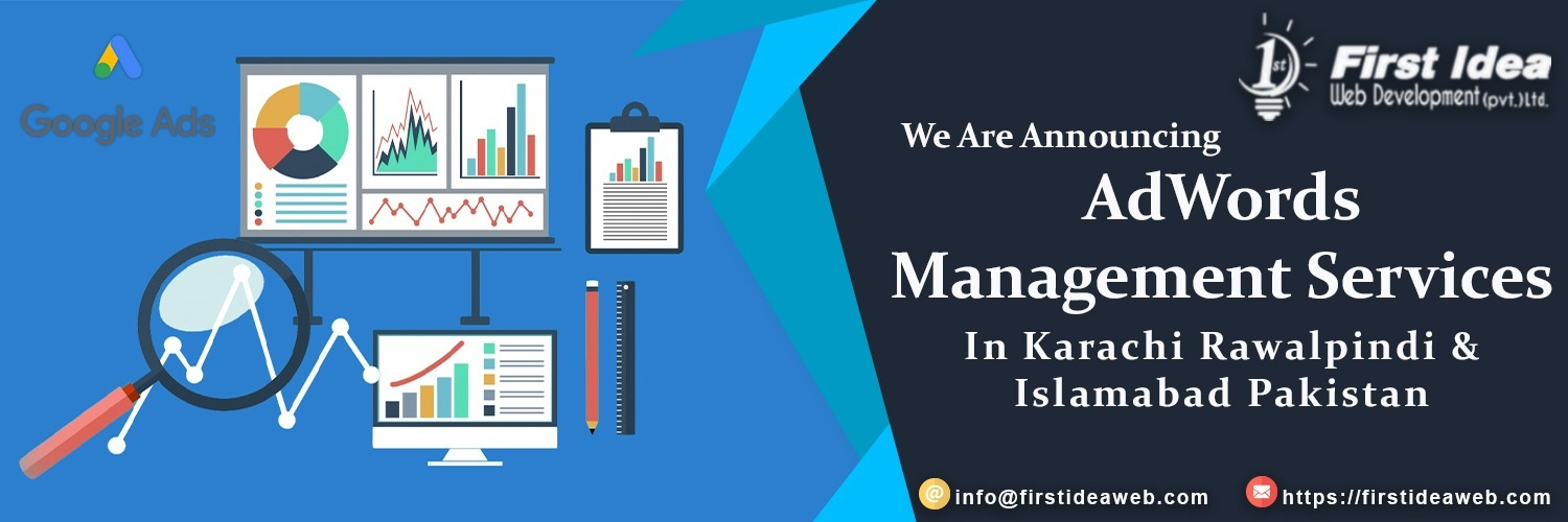 AdWords Management Services in Islamabad & Karachi Pakistan