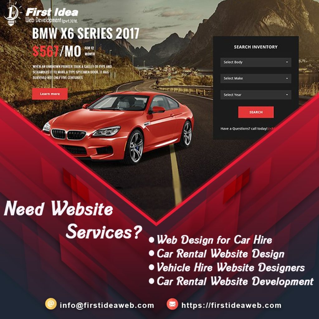 car rental website development, Car Rental Website Design, Web Design for Car Hire, Vehicle Hire Website Designers,