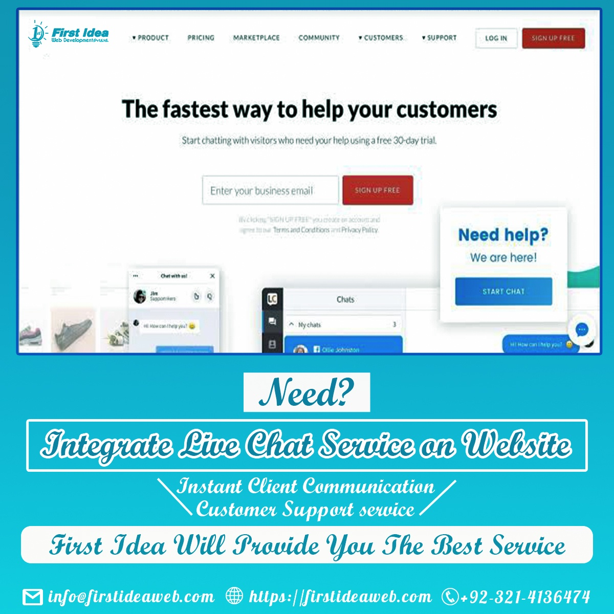 advantages of live chat support, customer support chat integration, benefits of live chat for eCommerce, Live chat role in customer service