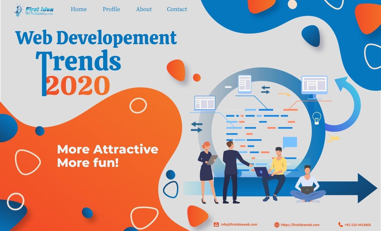 The Future of Web Design & Development & Trends in 2020!