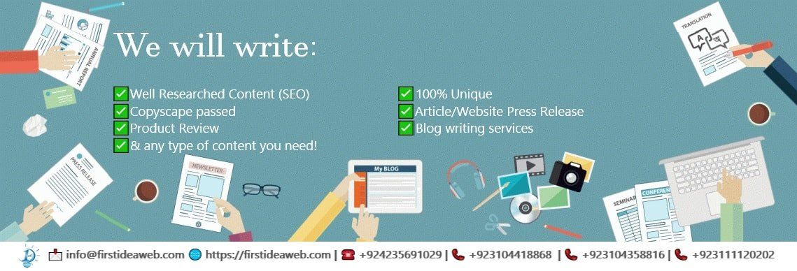 Need to hire product description writer providing content writing services Pakistan? Find detail here!
