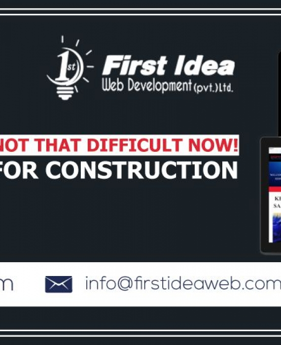 Searching a car online is not that difficult now! Built your website for construction or auto company!