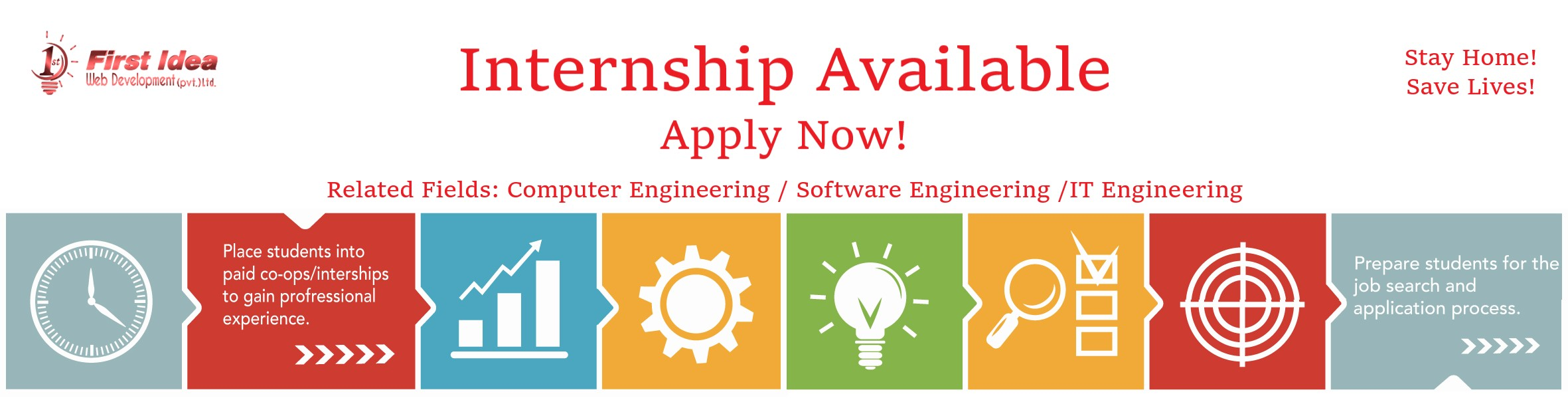 Looking for internship after IT / Software / Computer Engineering? Select your field first!