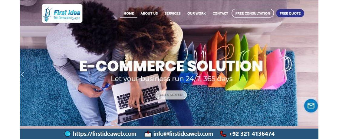 Buy an eCommerce Website From Best Agency of Website Design In Pakistan