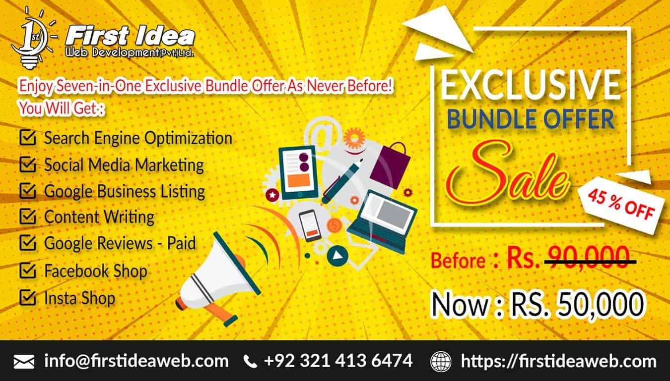 Seven-in-One Exclusive Bundle Offer As Never Before! – October 2020